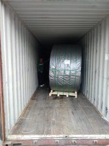 Перевозка конвейерной ленты для Сибньютэк