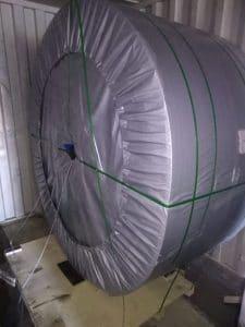 Перевозка ленты конвейерной для Сибньютэк