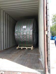 Перевозка конвейерной ленты